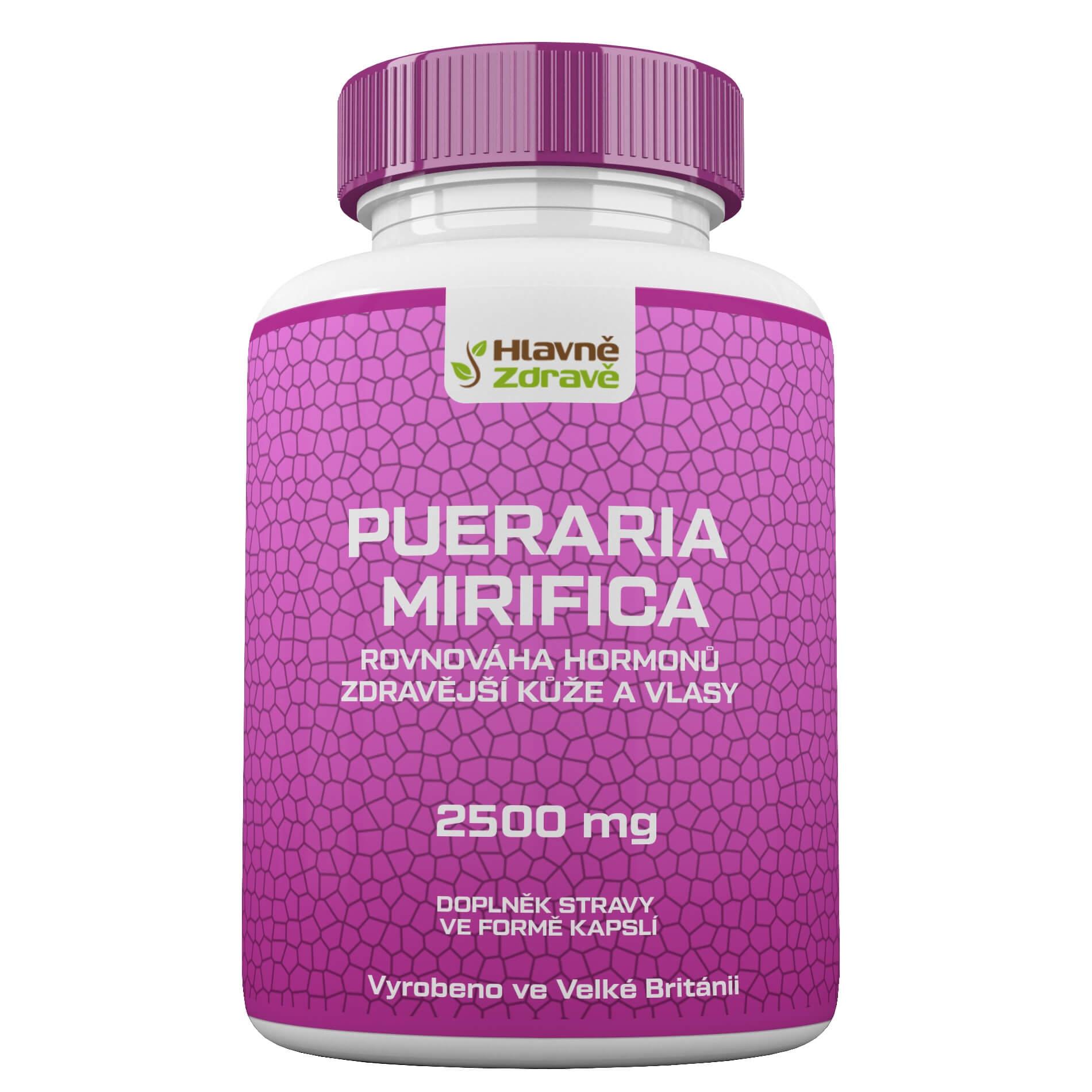 Pueraria mirifica 2500mg white kwao krua
